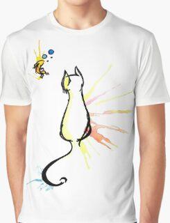 Fishy Kitty Graphic T-Shirt
