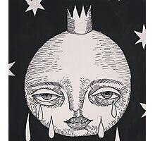 moon tears Photographic Print