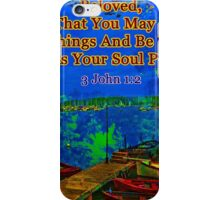 Beloved I pray that you may prosper in all things iPhone Case/Skin