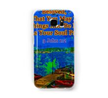 Beloved I pray that you may prosper in all things Samsung Galaxy Case/Skin