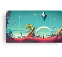 No Man's Sky Canvas Print
