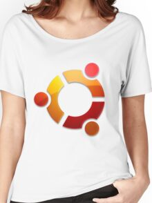 Ubuntu Logo Women's Relaxed Fit T-Shirt