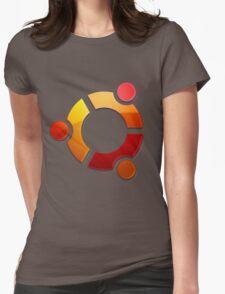 Ubuntu Logo Womens Fitted T-Shirt