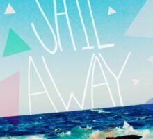 Let's Sail Away Sticker