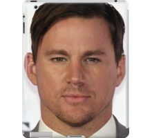 Cool Channing Tatum Face 2 by macyn iPad Case/Skin