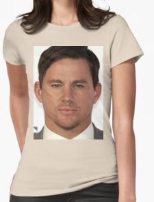Cool Channing Tatum Face 2 by macyn Womens Fitted T-Shirt
