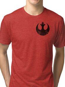 Distressed Rebel Alliance Logo Tri-blend T-Shirt
