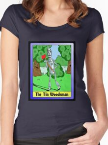"""""""The Tin Woodsman"""" Women's Fitted Scoop T-Shirt"""