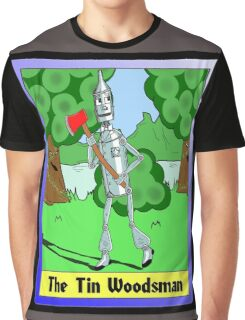 """The Tin Woodsman"" Graphic T-Shirt"