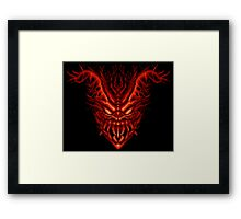 Contra III - Red Falcon Framed Print