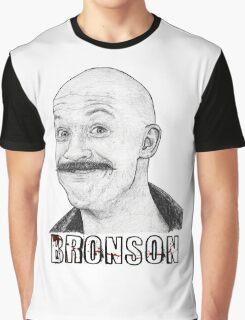 Tom Hardy as Charles Bronson Graphic T-Shirt