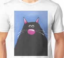 The Cat in Blue Unisex T-Shirt