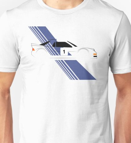 Group B Rally Car livery Unisex T-Shirt