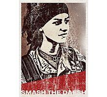 Smash the daesh Photographic Print