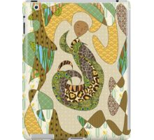 Mother Earth Abstract Illustration Animal Plant Patterns iPad Case/Skin