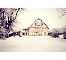 Winter Textures Photographic Print