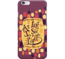 Tangled - At Last I See the Light iPhone Case/Skin