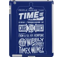 Doctor Who Police Box Quote iPad Case/Skin