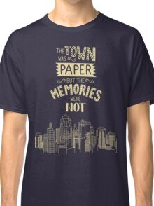 Paper Towns John Green Quote Classic T-Shirt