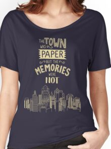 Paper Towns John Green Quote Women's Relaxed Fit T-Shirt