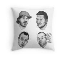 The Tenderloins Throw Pillow