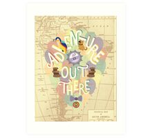 Up - Adventure is Out There Art Print