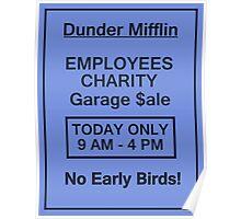 Garage Sale Sign Poster