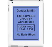 Garage Sale Sign iPad Case/Skin