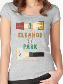 Eleanor and Park by Rainbow Rowell Book Cover Women's Fitted Scoop T-Shirt