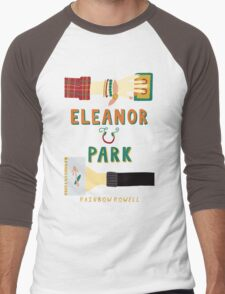 Eleanor and Park by Rainbow Rowell Book Cover Men's Baseball ¾ T-Shirt