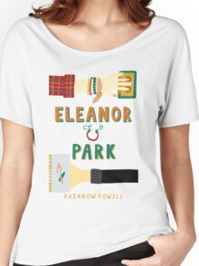 Eleanor and Park by Rainbow Rowell Book Cover Women's Relaxed Fit T-Shirt
