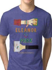 Eleanor and Park by Rainbow Rowell Book Cover Tri-blend T-Shirt