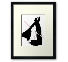 Darth Vader / Kylo Ren Framed Print