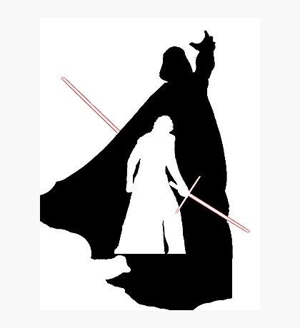 Darth Vader / Kylo Ren Photographic Print