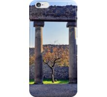 Little Tree Alive in Pompeii iPhone Case/Skin