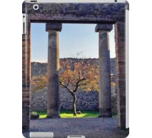 Little Tree Alive in Pompeii iPad Case/Skin