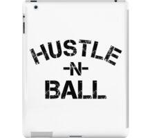 Hustle n Ball - Black iPad Case/Skin