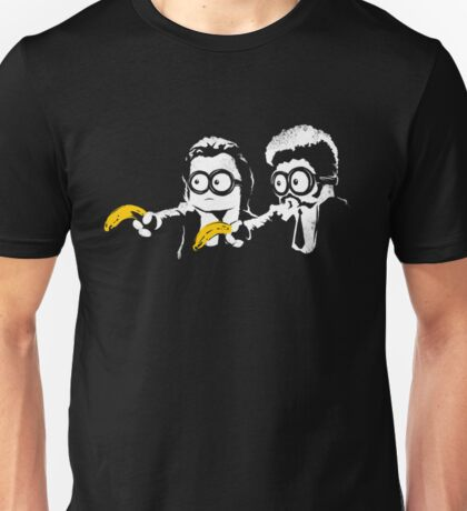 Minion Banana Fiction Unisex T-Shirt