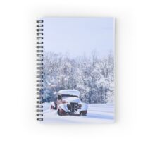 Betsey in the Snow Spiral Notebook