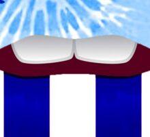 PENN STATE KISS LIPS Sticker