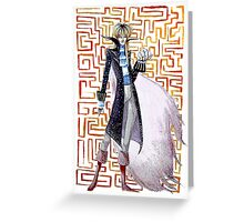 StarMan Waiting in the Sky Greeting Card