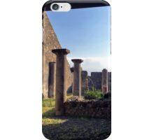 Pompeii columns iPhone Case/Skin