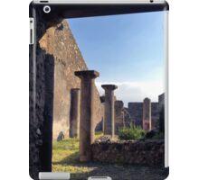 Pompeii columns iPad Case/Skin