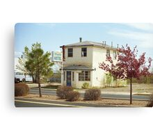 Route 66 - Wayside Motel Canvas Print