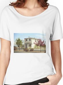 Route 66 - Wayside Motel Women's Relaxed Fit T-Shirt