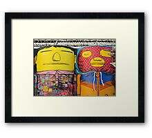 Cement People Framed Print