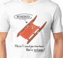 Movies - Rosebud Unisex T-Shirt