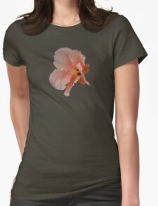 Peach Explosion Womens Fitted T-Shirt