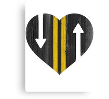 LOVE IS A TWO WAY STREET Canvas Print