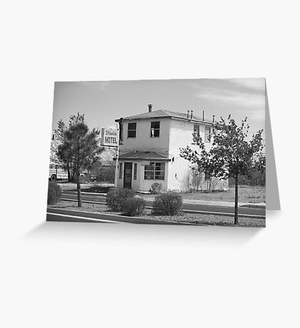 Route 66 - Wayside Motel Greeting Card